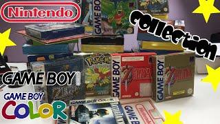 PRESENTATION COLLECTION JEUX VIDEO RETRO NINTENDO  GAME BOY [ ZELDA MARIO POKEMON ...]