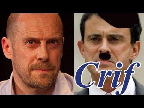 Alain Soral sur Dieudonné, Manuel Valls, le CRIF, les persécutions et domination Juive (mars 2014)