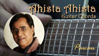 Ahista Ahista - Jagjit Singh - Guitar Chords Lesson by Pawan