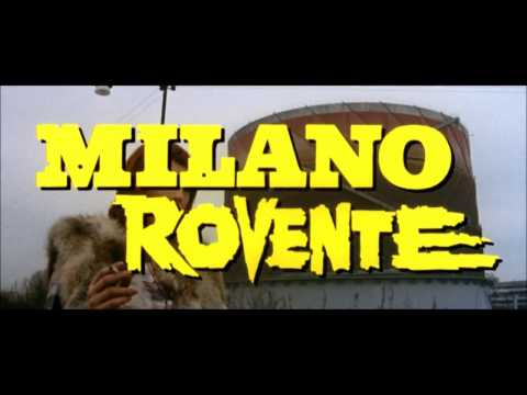 MILANO ROVENTE (1973, Umberto Lenzi) ~ Credit Sequence