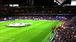 Chelsea Vs Juventus 2-2 Juventus Supporters 19/09/2012 Stamford Bridge
