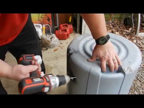 How to Repair a Plastic Trash Can