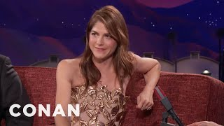 "Selma Blair Plays A Killer Parent In ""Mom And Dad""  - CONAN on TBS"