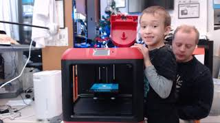 Gambar cover 2018 Christmas - Unboxing the Flashforge Finder 3D Printer