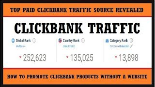 How To Promote Clickbank Products Without A Website In 2019