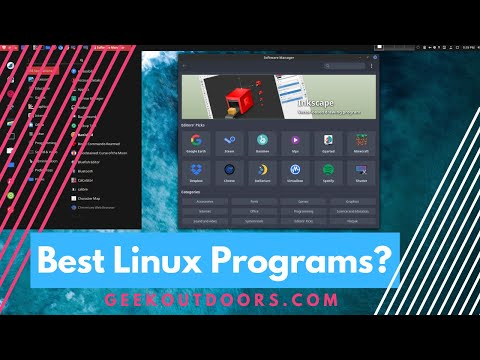 TOP 5 Best Linux Programs in Early 2018 (My Must Have Linux Apps) #Geekoutdoors.com EP603