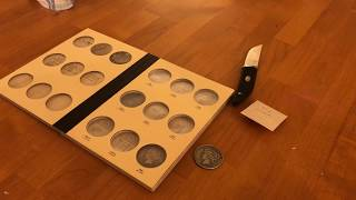 Numismatic Unboxing #13 - Library of Coins Album, 1927 Denver Silver Peace Dollar 1$