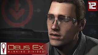 Deus Ex Mankind Divided Gameplay Part 12 - Claiming Jurisdiction - Lets Play [Stealth Pacifist PC]