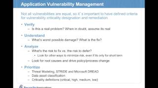 Webcast: Rolling Out an Effective Application Security Assessment Program
