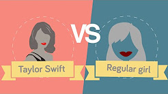 Taylor Swift vs Regular Girl Facts and Statistics