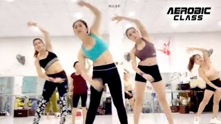 Aerobic Class l 35 Mins Aerobic exercise at home helps to burn fat fast and has a slim waist