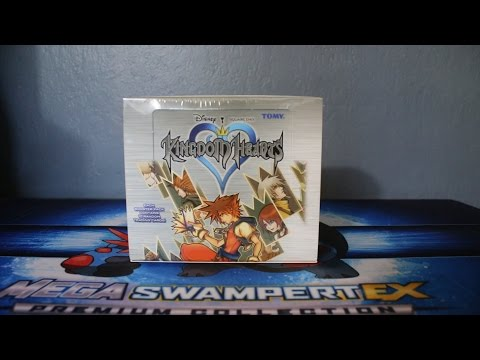 OPENING KINGDOM HEARTS TRADING CARDS!