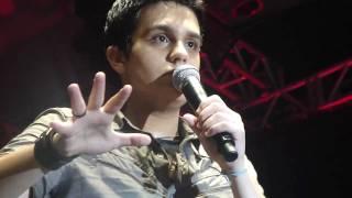 Luan dando a TAL noticia - Show Penha/SC 12/02