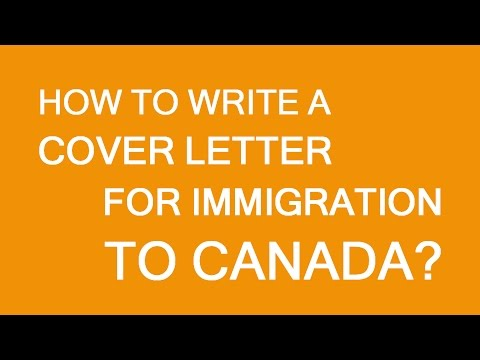 How To Draft A Cover Letter For Immigration To Canada