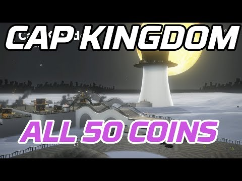 [Super Mario Odyssey] All Cap Kingdom Coins (50 Purple Local Coins)
