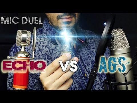 ASMR MIC DUEL AGS Vs ECHO (technical Comparison)