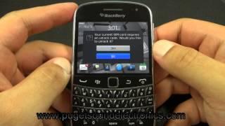 How to unlock Sprint Blackberry Bold 9930
