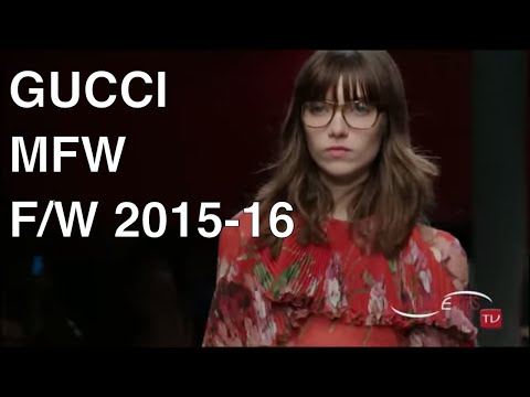 [Tap The Bell 🔔] GUCCI Fashion Show Fall Winter 2015 2016 -   HD