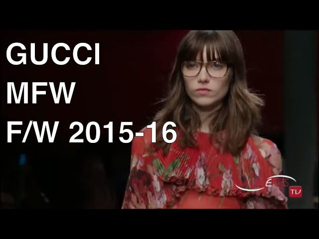 Tap The Bell Gucci Fashion Show Fall Winter 2015 2016 Hd