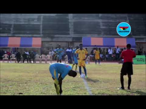 Highlights of Tertiary Football League: University of Ghana 2-2 Accra Technical University