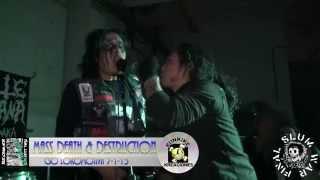 FINAL SLUM WAR- Mass death & Destruction (CSO Lokomotiva 7-1-15)