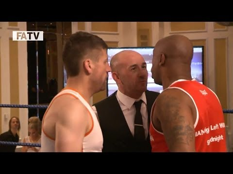 IAN WRIGHT'S FIGHT NIGHT: All of Arsenal legend's boxing match for charity
