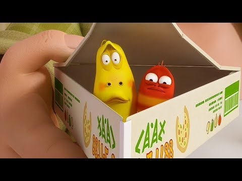 LARVA - TAKEAWAY BOX | Cartoon Movie | Cartoons For Children | Larva Cartoon | LARVA Official