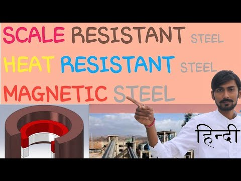 [HINDI] SCALE RESISTANT STEEL~HEAT RESISTANT STEEL~MAGNETIC STEEL ~ TYPES /ALLOYING ELEMENTS & MORE