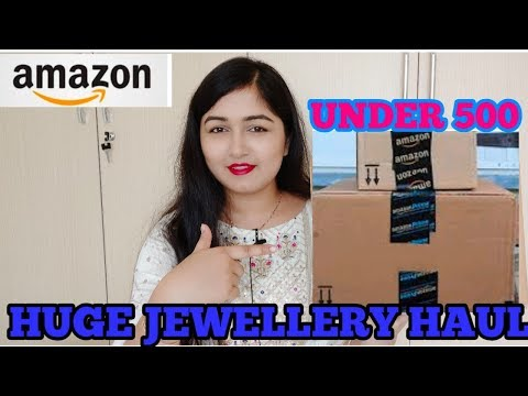 Amazon Jewellery Haul Under 500 | Affordable wedding | Partywear Jewellery Haul