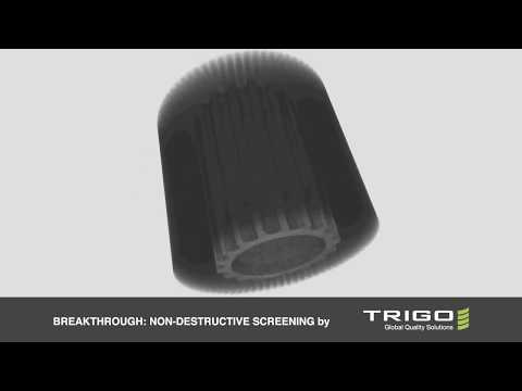 Non-Destructive Screening For Inspecting Electro Steel Covered Rotor Casting