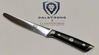 Dalstrong Gladiator Series Steak Knives Set Unboxing and Review