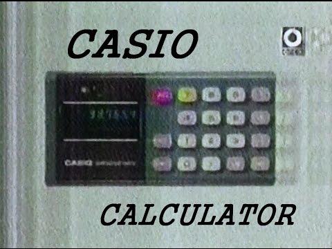 Desarollo de las calculadoras en Japón