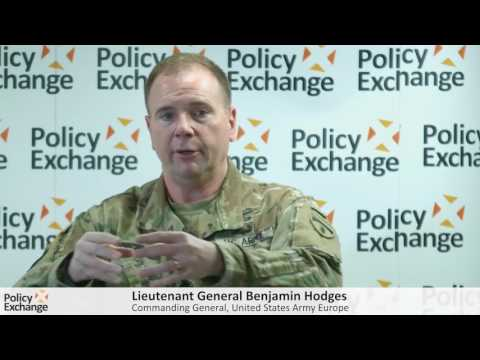 Security Challenges to the Continent with Lieutenant General Ben Hodges, Commander of US Army Europe