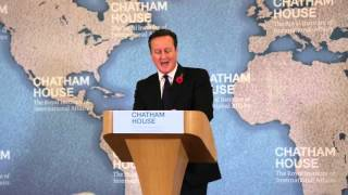 David Cameron on the Future of Britain