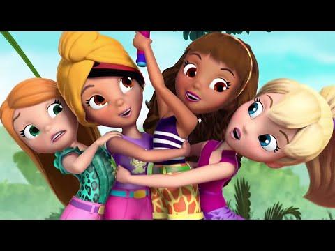 Polly Pocket | Full Episode Compilation | 1 Hour | Cartoons for Children