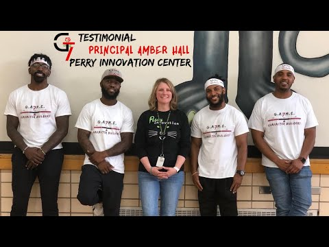 Game 7 Character Builders Testimonial: Principal Amber Hall, Perry Innovation Center