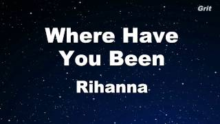 Where Have You Been - Rihanna Karaoke 【With Guide Melody】 Instrumental