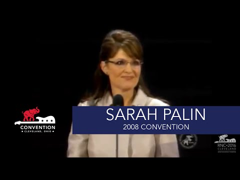 VP Acceptance Speech | Governor Sarah Palin | 2008 Republican National Convention