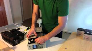 APC RBC43 Battery Pack Assembly Video(Brought to you by http://www.techbatterysolutions.com This is a video tutorial demonstrating how to install the APC RBC43 battery replacement kit. The APC ..., 2012-09-04T01:47:46.000Z)