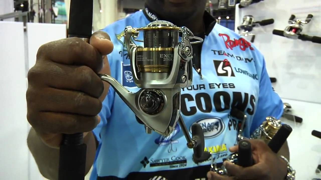 526c4d64490 ICAST 2010 - New Daiwa Exceler Reels with Ish Monroe - YouTube