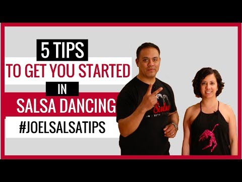 5 Tips to Get You Started in Salsa Dancing