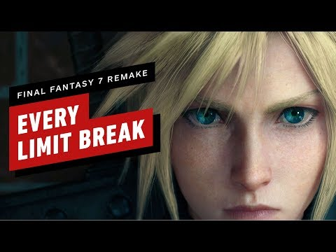 Every Limit Break in Final Fantasy 7 Remake