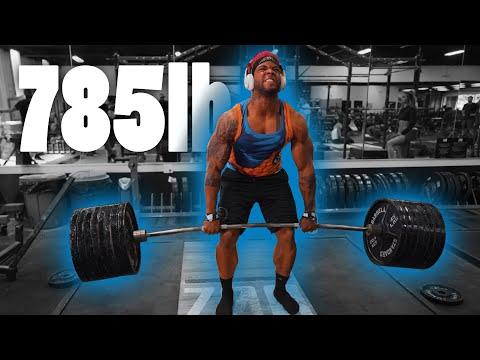 Super Saiyan Deadlifts Incredible 785 Lbs (356.07 Kg) | Terron Beckham Road To 800