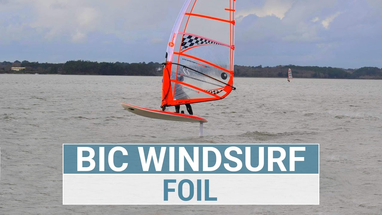 Foil Windsurf by BIC Sport & KerFoils