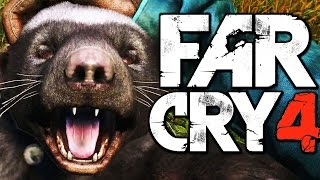 Far Cry 4 Funny Moments (Hunting Rare Honey Badger, Liberating a Fortress) Thumbnail
