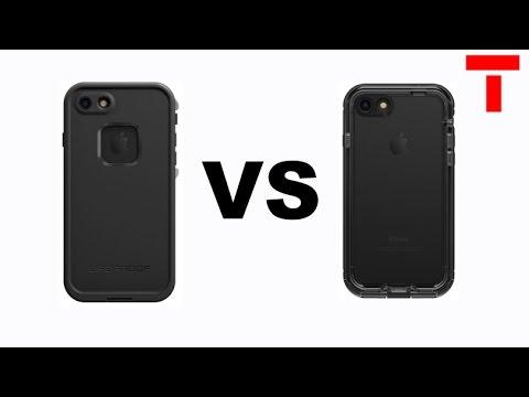Lifeproof Fre VS Nuud  iPhone 7