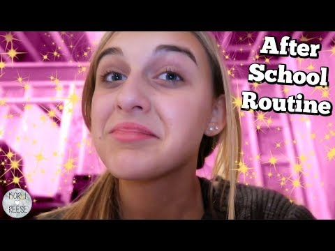 AFTER SCHOOL ROUTINE - HANG OUT WITH ME!