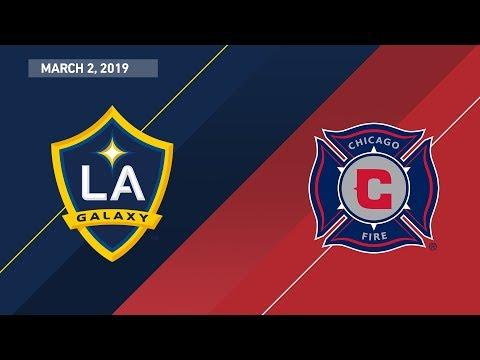 HIGHLIGHTS: LA Galaxy Vs. Chicago Fire   March 2, 2019