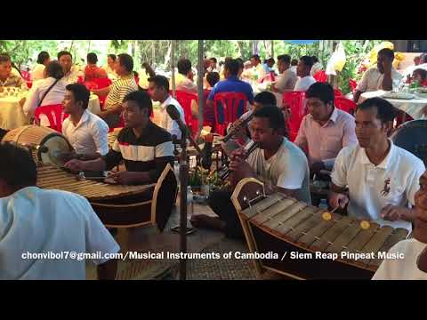 Musical Instruments of Cambodia - Khmer Traditional Music - Siem Reap Pleng Pinpeat