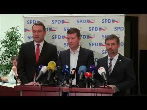 Tiskovka SPD k aktuálním politickým tématům